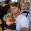2019-08-02_US Open_Vans Team Signing_10_Dane_Reynolds.JPG<br /> Fans who wanted Dane Reynolds to sign their posters got his son's version of Dad's signature!<br /> US Open of Surfing 2019