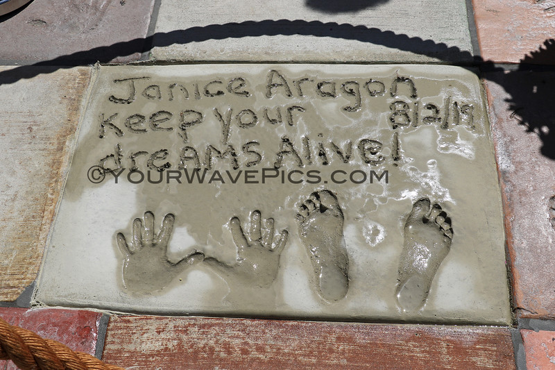 2019-08-02_US Open_Hall of Fame_3_Janice Aragon.JPG<br /> Legendary surfers are chosen each year to be part of the HSS Hall of Fame<br /> US Open of Surfing 2019