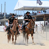 2019-08-02_US Open_E_15.JPG<br /> Police patrol on the beach<br /> US Open of Surfing 2019