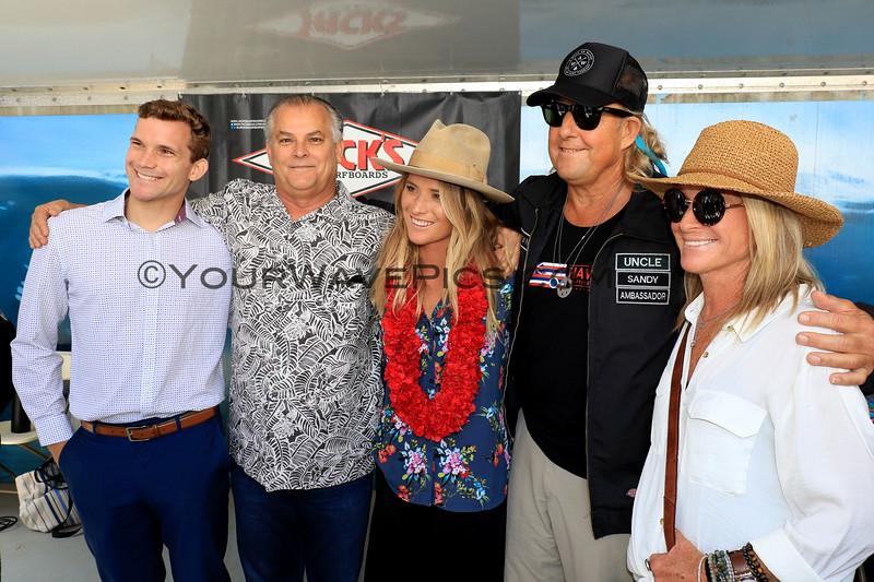 2019-08-01_Walk of Fame_63_Ryan_Richard_Courtney_Tracey Conlogue.JPG<br /> 2019 Surfing Walk of Fame Induction