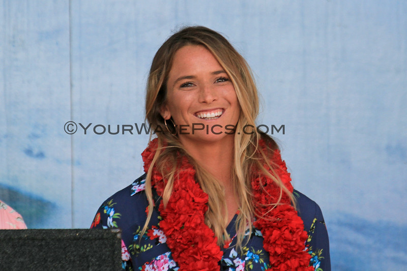 2019-08-01_Walk of Fame_34_Courtney Conlogue.JPG<br /> 2019 Surfing Walk of Fame Induction