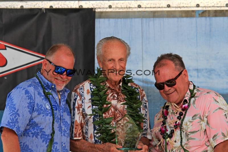 2019-08-01_Walk of Fame_21_John Etheridge_Renny Yater_PT.JPG<br /> 2019 Surfing Walk of Fame Induction