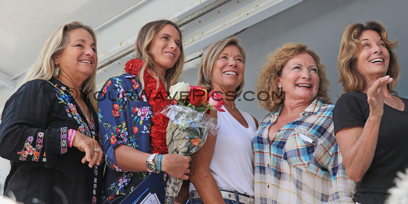2019-08-01_Walk of Fame_60_Banzai Betty_Courtney Conlogue_Shannon Aikman_Jericho Poppler_Candice Woodward MS.JPG<br /> 2019 Surfing Walk of Fame Induction