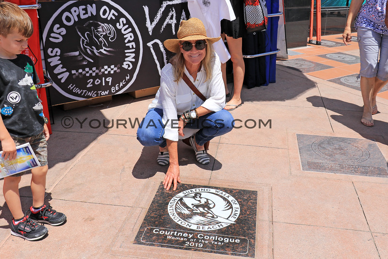 2019-08-01_Walk of Fame_82_Tracey Conlogue.JPG<br /> 2019 Surfing Walk of Fame Induction