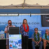 2019-08-01_Walk of Fame_36_Linda Benson_PT_Courtney Conlogue_Jeff Divine_Art Brewer_Sam Hawk.JPG<br /> 2019 Surfing Walk of Fame Induction