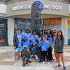 2018-10-27_Vissla World Juniors_Fiji_1.JPG<br /> Vissla ISA World Junior Surfing Championship 2018 - Opening Ceremony<br /> <br /> Team Fiji with Duke Kahanamoku statue