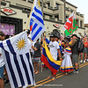 2018-10-27_Vissla World Juniors_Parade_Uruguay_Venezuela_USA_3.JPG<br /> Vissla ISA World Junior Surfing Championship 2018 - Opening Ceremony<br /> <br /> Parade of Nations