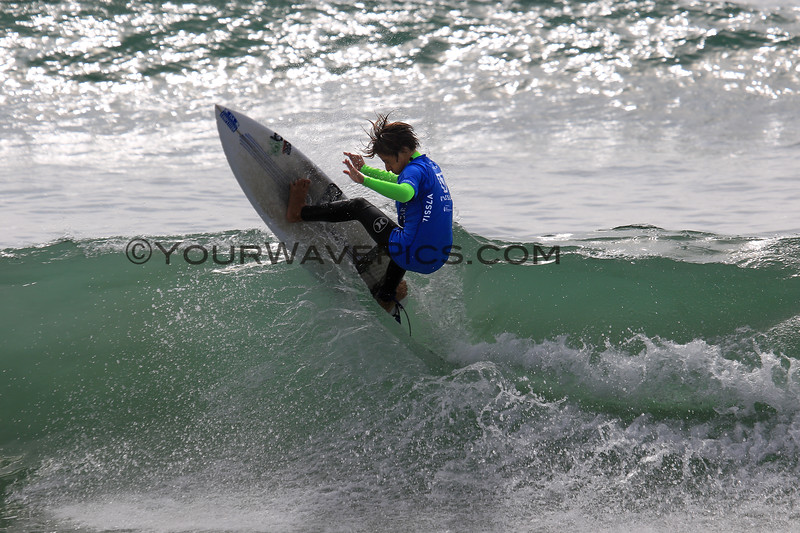 2018-10-29_Vissla ISA World Juniors_BoysU16_Bruce_Burgos_1.JPG<br /> Vissla ISA World Junior Surfing Championship 2018<br /> Boys U16 Round 2