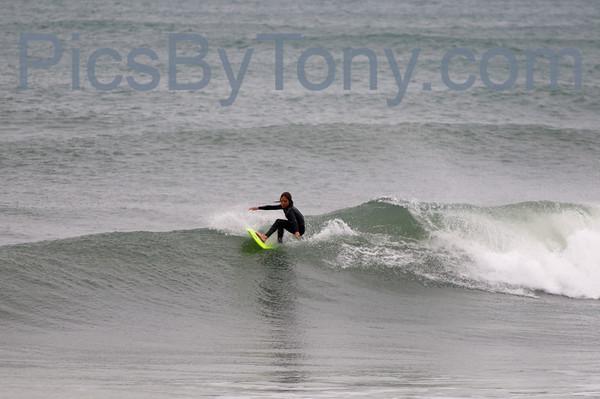 Folks Surfing at Pier in  Flagler Beach, FL on 04/04/2013