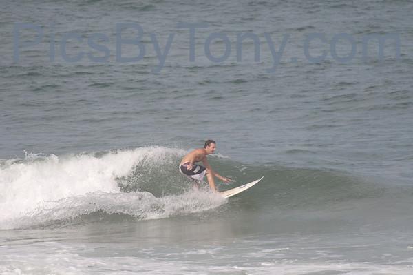 Folks Surfing at Pier in  Flagler Beach, FL on 09/12/2013