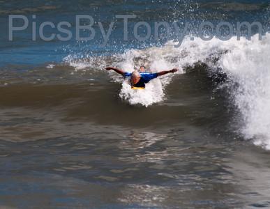 Surfers @ 17th  N A1A  Flagler Beach, FL  Oct. 15. 2013