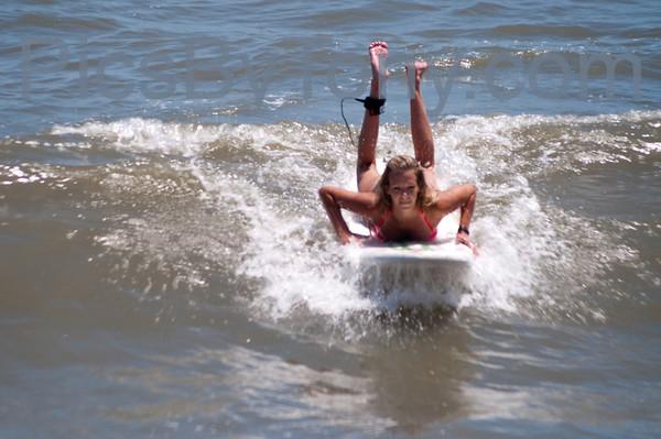 Surfers @ 16th N A1A  Flagler Beach, FL Aug. 11, 2013