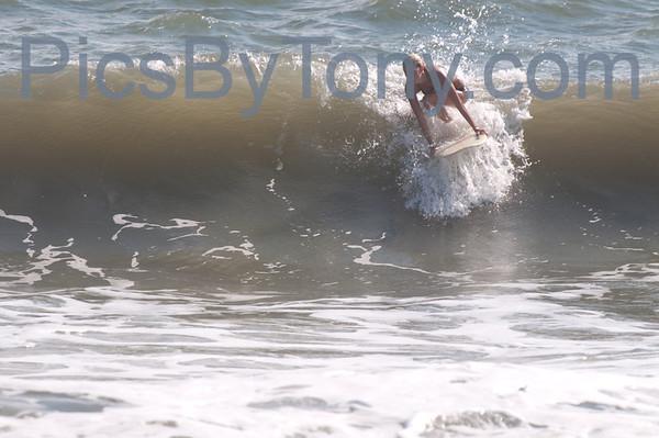 Surfers @ 16th N A1A  Flagler Beach, FL Sep. 8, 2013