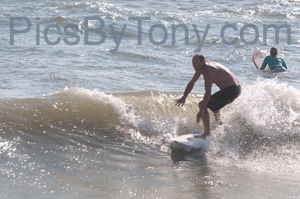 Surfers @ 17th  N A1A  Flagler Beach, FL  Sep. 8. 2013