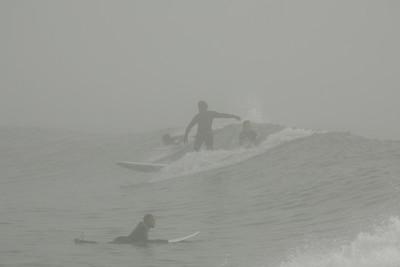 R.J. cutting thru the fog.