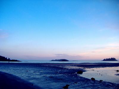 MacKenzie Beach at sunset