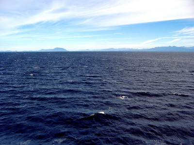 Ferry ride back to Tsawwassen