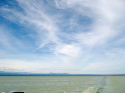 Ferry ride back to Tsawwassen