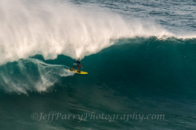 Grant Breuer threading the needle outer islands Hawaii 2