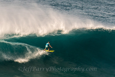 Grant Breuer threading the needle outer islands Hawaii 1