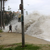 2021-08-18_Aliso_17.JPG<br /> A Southern-Hemi swell plus Hurricane Linda sent waves into the parking lot at Aliso Beach