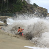 2021-08-18_Aliso_8.JPG<br /> A Southern-Hemi swell plus Hurricane Linda sent waves into the parking lot at Aliso Beach