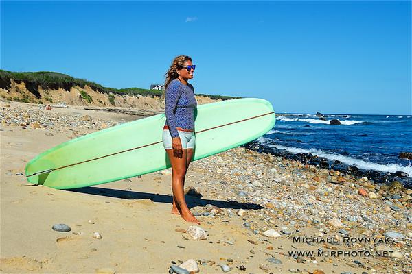 Montauk Surf, Claudia 08.07.16