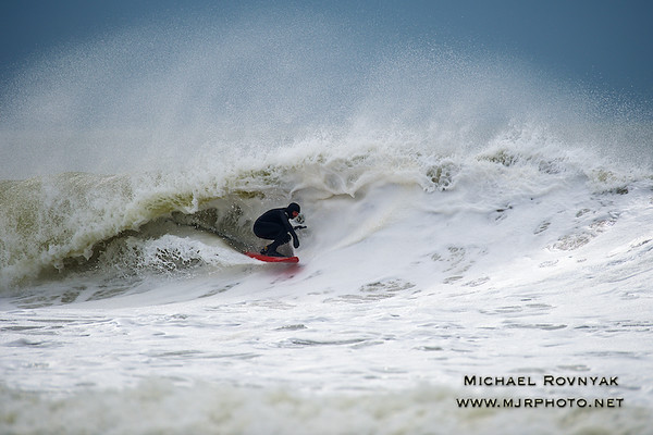 Surfing, L.B. West, NY, 03.27.15