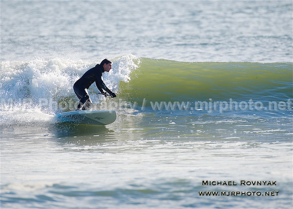 Surfing, L.B. West, NY, 11.29.15