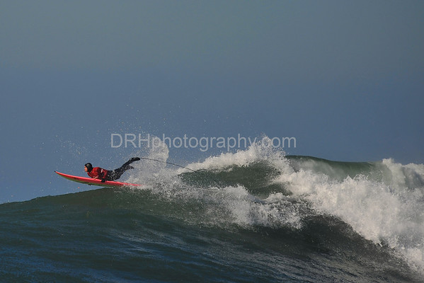 12 January 2008: Jamie Sterling during the finals of the 2008 Mavericks Surf Contest in Half Moon Bay, CA.