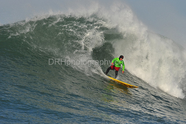 12 January 2008: Dave Wassel during the the 2008 Mavericks Surf Contest in Half Moon Bay, CA.