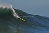 12 January 2008: Ryan Seelbach during the semifinals of the 2008 Mavericks Surf Contest in Half Moon Bay, CA.