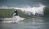 Surfing the New England coast - Surfer: Ryan Webb