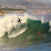 2020-07-03_Wedge_35_B.JPG<br /> Big South Swell coincides with a super high tide at the Wedge