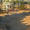 2020-07-05_Wedge_Berm_3.JPG<br /> <br /> A small berm was built up to protect the houses near the Wedge due to the full moon King tide and big south swell coinciding on the 4th of July.