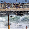 2021-08-19_Lower Jetties from 53rd St._P15.JPG<br /> A Southern-Hemi swell plus a touch of Hurricane Linda swell brought big surf to Newport's Lower Jetties.  Looking south from 53rd St.