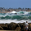 2021-08-19_Lower Jetties from 53rd St._E20.JPG<br /> A Southern-Hemi swell plus a touch of Hurricane Linda swell brought big surf to Newport's Lower Jetties.  Looking south from 53rd St.