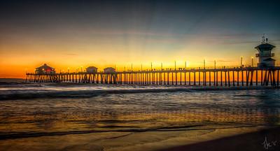 Pier Sunset-001