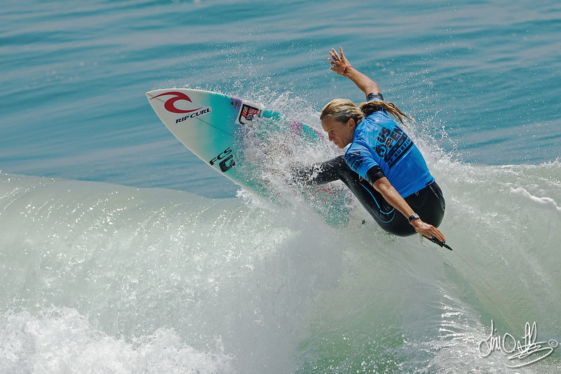 Lisa Andersen<br /> four-time world surfing champion
