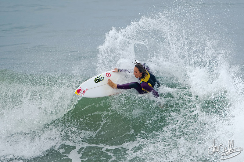 Carissa Moore<br /> Won the Association of Surfing Professionals (ASP) 6-Star Women's<br /> US Open of Surfing presented by Hurley at Huntington Beach 2010<br /> Carissa shreds!