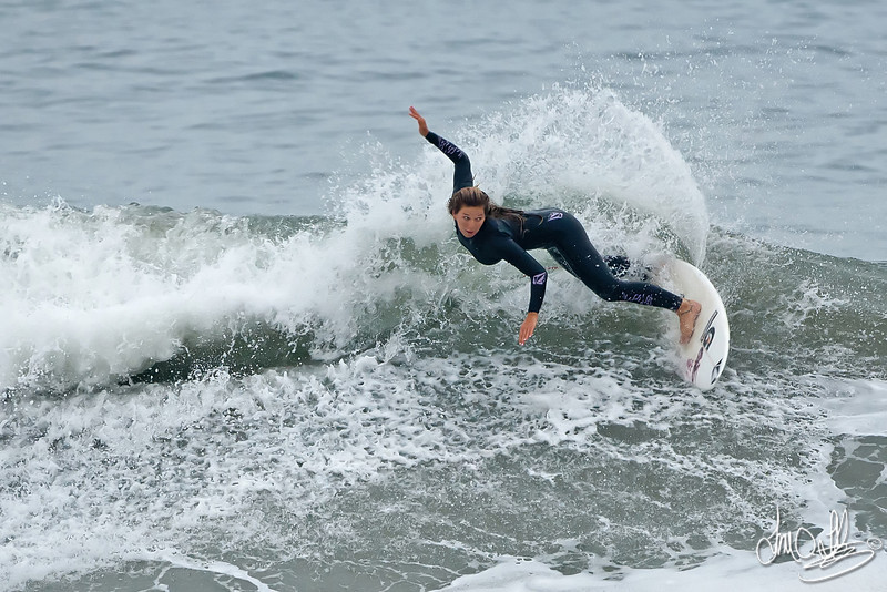 Coco Ho<br /> Early morning practice before Saturday's heat<br /> Nike US Open of Surfing 2011 • Huntington Beach, CA
