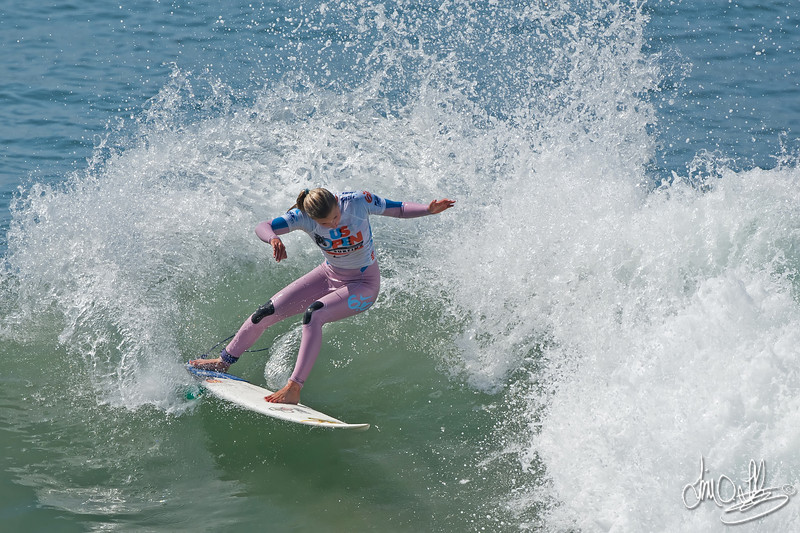 Lakey Peterson<br /> Won the ASP 4-Star Nike US Open of Surfing Pro Junior Women's<br /> Nike US Open of Surfing 2011