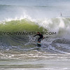 2018-12-18_Seal Beach SS_G_2.JPG<br /> <br /> A big WNW swell hit North Orange County Tuesday.  An unidentified surfer comes out of a barrel on the south side of the Seal Beach Pier.
