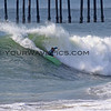 2018-12-18_Seal Beach SS_Brad_Domke_4.JPG<br /> <br /> A big WNW swell hit North Orange County Tuesday.  A peaky shore break brought out the crowds south of the Seal Beach Pier.