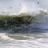 2018-12-18_Seal Beach SS_6593.JPG<br /> <br /> A big WNW swell hit North Orange County Tuesday.  A peaky shore break brought out the crowds south of the Seal Beach Pier.