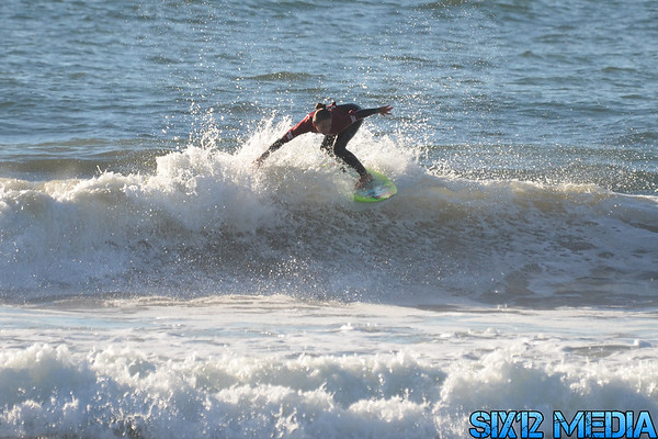 Totally Crustaceous Surf Tour - El Porto - 1-12-13 http://www.six12media.com/Surfing/Volcom-Totally-Crustaceous