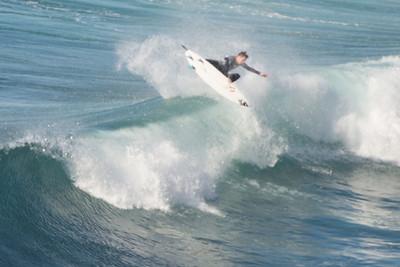 Surfing Santa Cruz north coast 2014 01 18-8