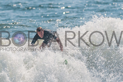 Surfing Long Beach 9-7-12