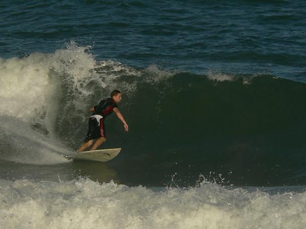 Surfing Seagull Park 30 December 2006