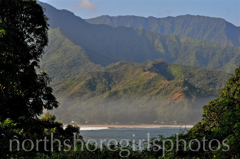 Surf Mist in the Bay